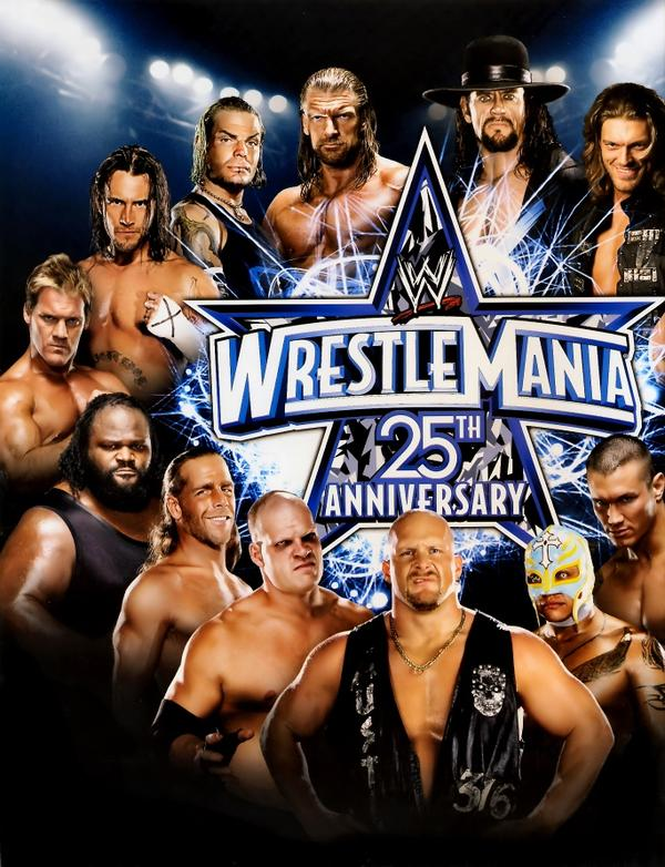 Image result for wrestlemania 2009 poster
