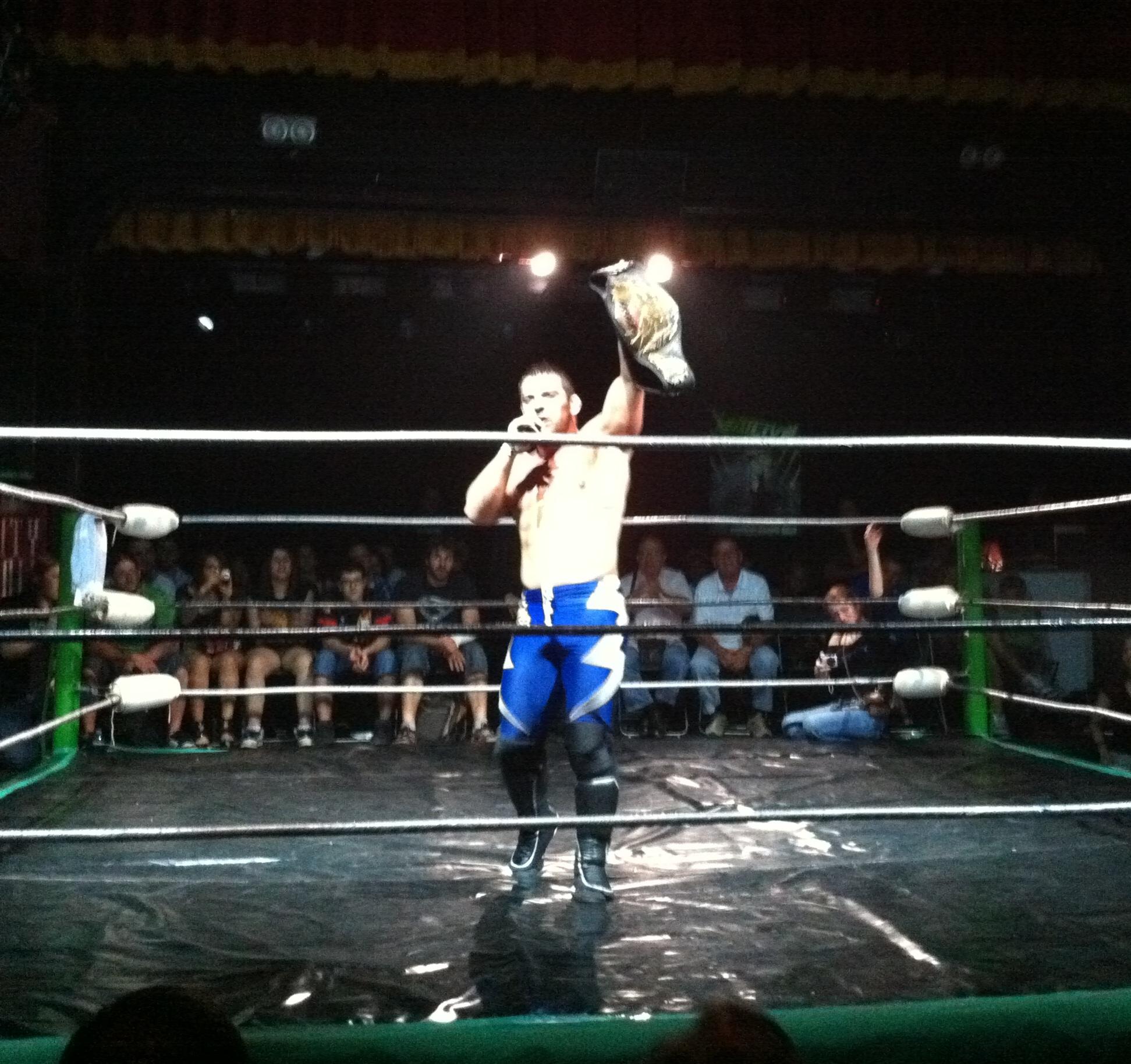 Roh World Title New Roh World Champion Davey