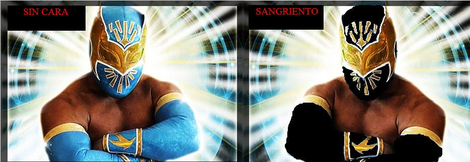 sin cara wwe without mask. wwe sin cera without mask. sin