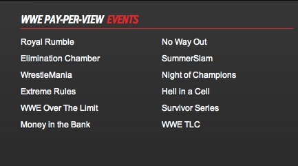 Updated WWE PPV schedule - old PPV returning
