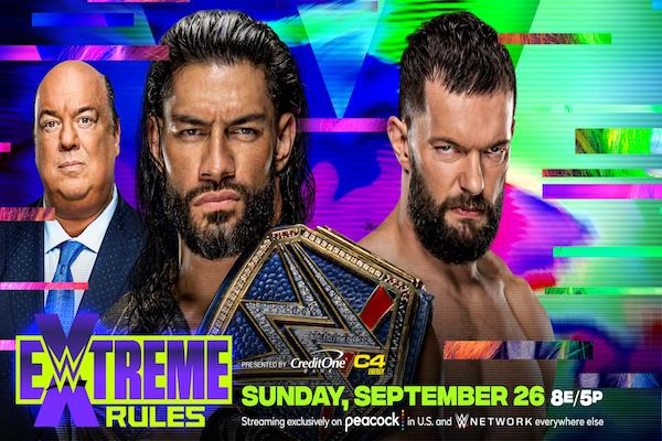 9/26 WWE EXTREME RULES PPV REPORT: Keller's report and analysis of Reigns vs. Demon, Lynch vs. Belair, Charlotte vs. Bliss, New